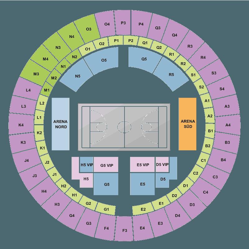 bayern munich vs telekom baskets bonn audi dome munich tickets fri 01 dec 2017 viagogo. Black Bedroom Furniture Sets. Home Design Ideas