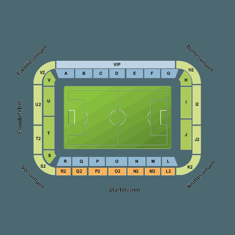 Start Vs Tromso Sør Arena Kristiansand S Tickets